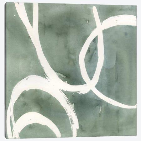 Moss Swirl II Canvas Print #AWR20} by Annie Warren Canvas Print