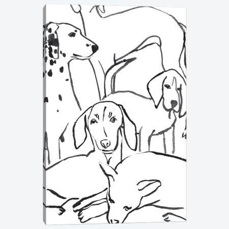 Loyal Companion I Canvas Print #AWR226} by Annie Warren Art Print