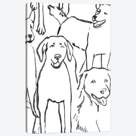 Loyal Companion III Canvas Print #AWR227} by Annie Warren Canvas Print