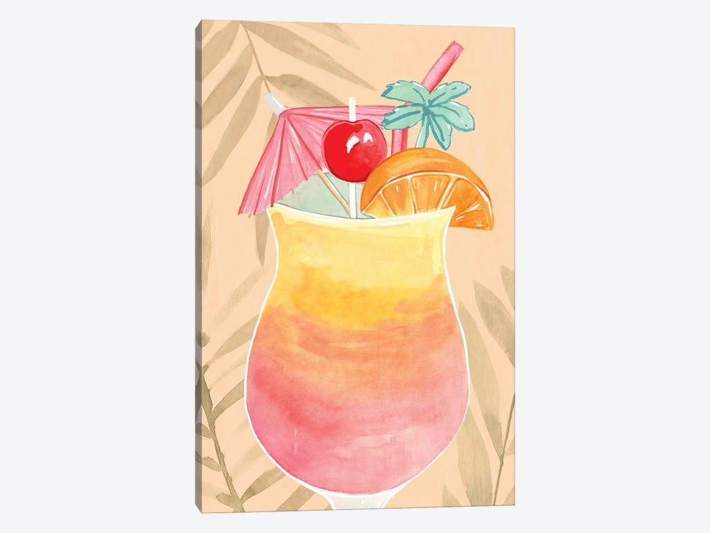 Tropical Cocktail IV by Annie Warren 1-piece Canvas Artwork