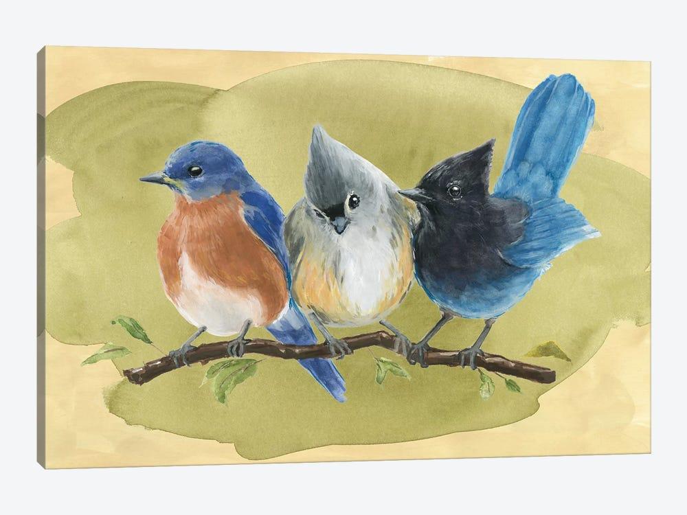 Bird Perch III by Annie Warren 1-piece Canvas Artwork