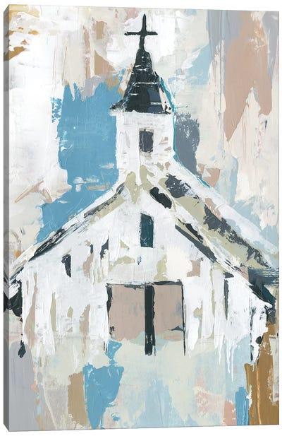 Sunday Chapel I Canvas Art Print