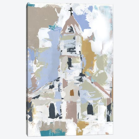 Sunday Chapel II Canvas Print #AWR42} by Annie Warren Canvas Print