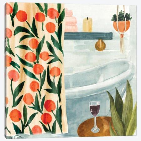 Bath Retreat I Canvas Print #AWR43} by Annie Warren Art Print