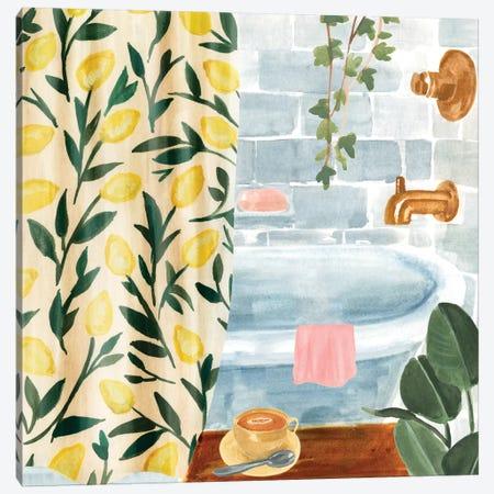Bath Retreat II Canvas Print #AWR44} by Annie Warren Canvas Art