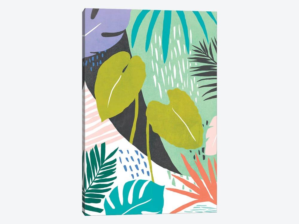 Jazzy Jungle I by Annie Warren 1-piece Canvas Artwork