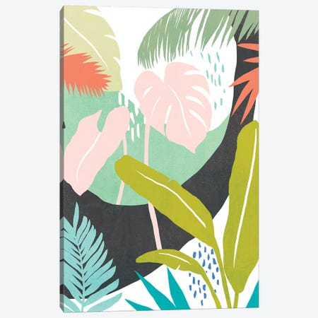 Jazzy Jungle II Canvas Print #AWR65} by Annie Warren Canvas Art