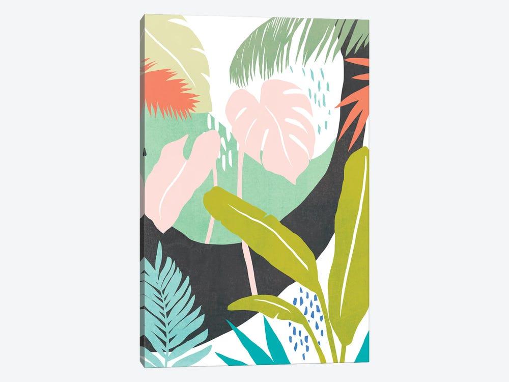 Jazzy Jungle II by Annie Warren 1-piece Canvas Art Print