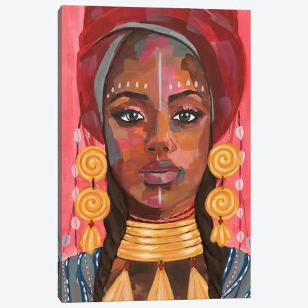 Ornament Empress I Canvas Print #AWR66} by Annie Warren Canvas Art