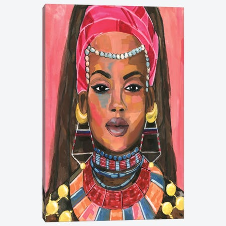 Ornament Empress II Canvas Print #AWR67} by Annie Warren Canvas Artwork