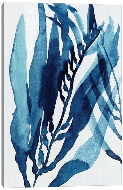 Blue Drift II Canvas Art Print