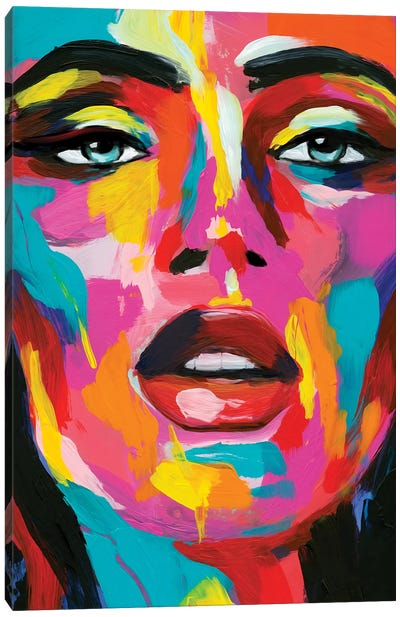 Prismatic Pout II Canvas Art Print