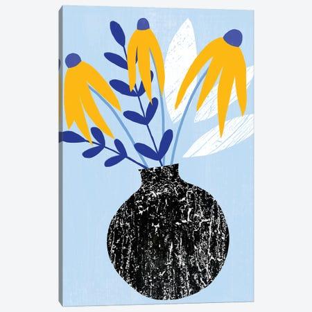 Ruffled Vase I Canvas Print #AWR72} by Annie Warren Canvas Wall Art