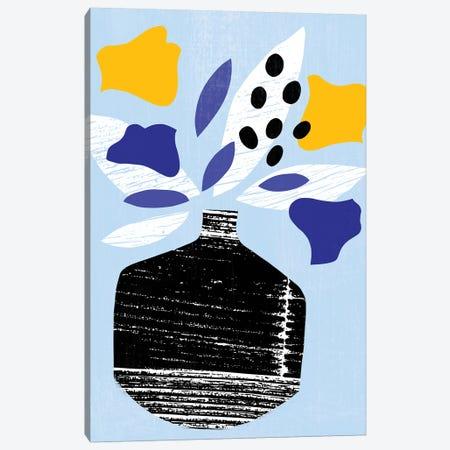 Ruffled Vase III Canvas Print #AWR74} by Annie Warren Canvas Art Print