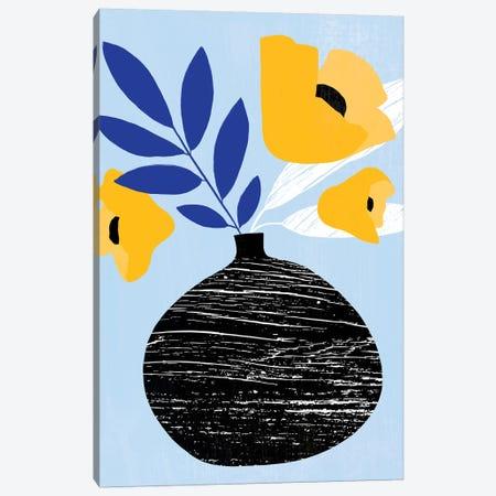 Ruffled Vase IV Canvas Print #AWR75} by Annie Warren Art Print