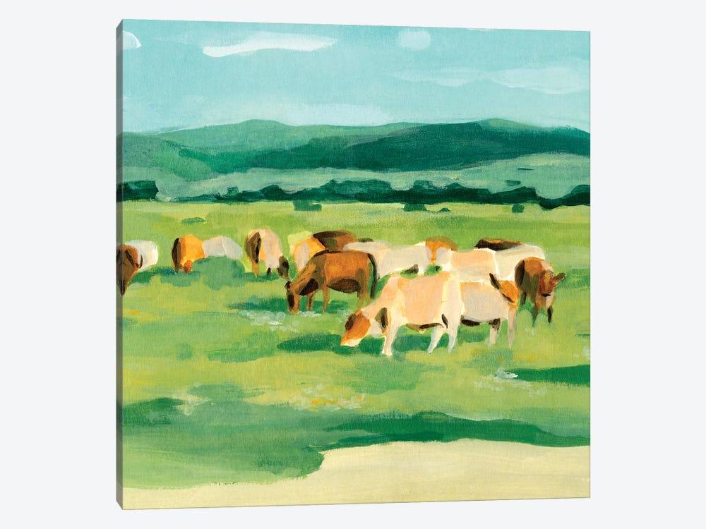 Rural Fields I by Annie Warren 1-piece Art Print