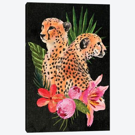 Cheetah Bouquet I Canvas Print #AWR7} by Annie Warren Canvas Print