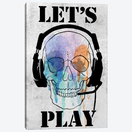 Skull Games I Canvas Print #AWR80} by Annie Warren Canvas Art Print