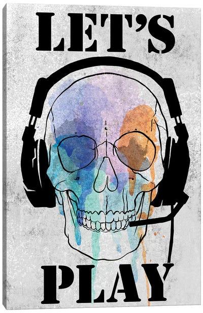 Skull Games I Canvas Art Print