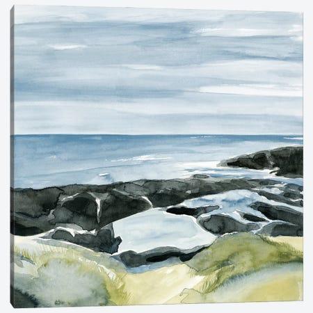 Coastal Blue I Canvas Print #AWR85} by Annie Warren Canvas Artwork