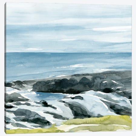 Coastal Blue II Canvas Print #AWR86} by Annie Warren Canvas Artwork