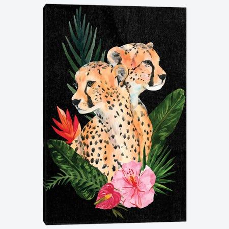Cheetah Bouquet II Canvas Print #AWR8} by Annie Warren Canvas Artwork