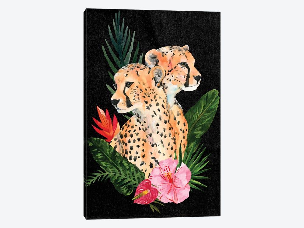 Cheetah Bouquet II by Annie Warren 1-piece Art Print