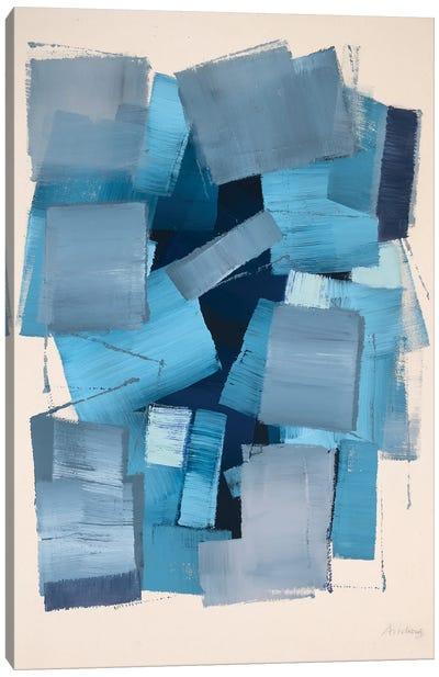 Deep Blue Canvas Art Print