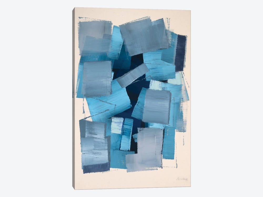 Deep Blue by Annabel Andrews 1-piece Art Print