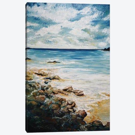 Heart Of The Coast LIne Canvas Print #AWT11} by Amanda Wathen Canvas Wall Art