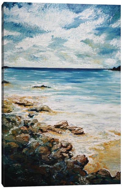 Heart Of The Coast LIne Canvas Art Print