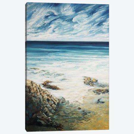 Hidden Waves Canvas Print #AWT16} by Amanda Wathen Canvas Art Print