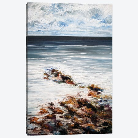Soothing Waters Canvas Print #AWT18} by Amanda Wathen Canvas Artwork