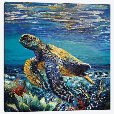 Deep Dive Canvas Print #AWT23} by Amanda Wathen Canvas Print