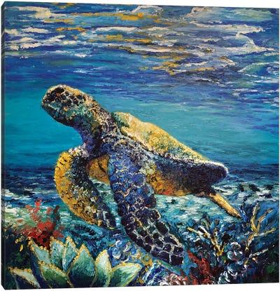 Deep Dive Canvas Art Print