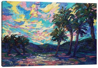 Tropical Oasis Canvas Art Print