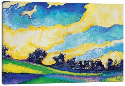 Guilded Summer Canvas Art Print