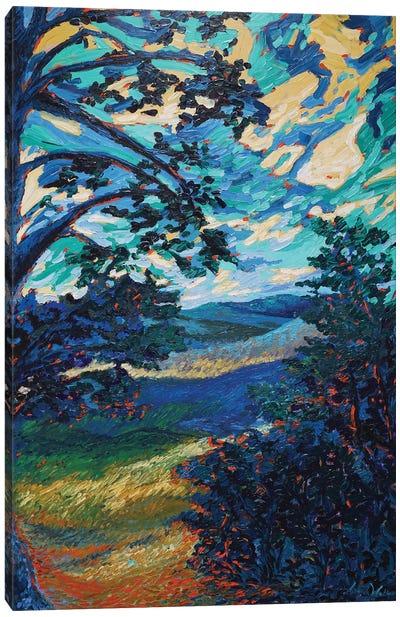 Ohio Blues Canvas Art Print