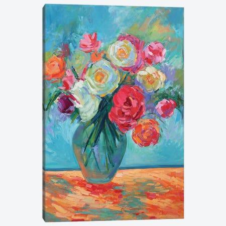 Petals and Persistence Canvas Print #AXF24} by Alexi Fine Canvas Artwork