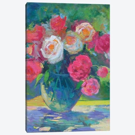 Pretty Petals Canvas Print #AXF26} by Alexi Fine Canvas Wall Art