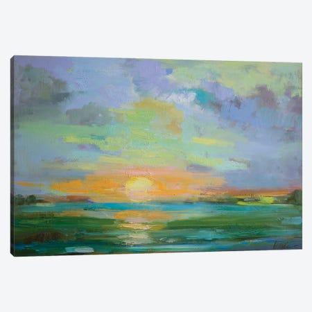 Sherbert Sunset Canvas Print #AXF27} by Alexi Fine Canvas Artwork