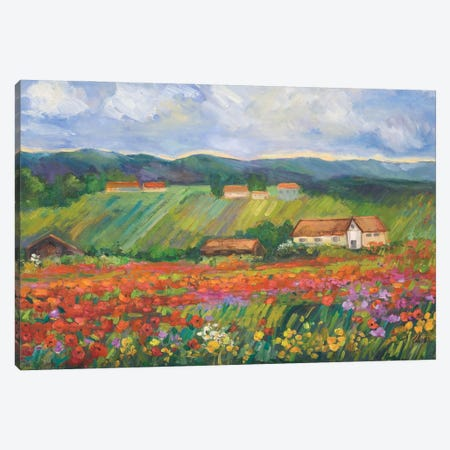 Spring Glory Canvas Print #AXF28} by Alexi Fine Canvas Art Print