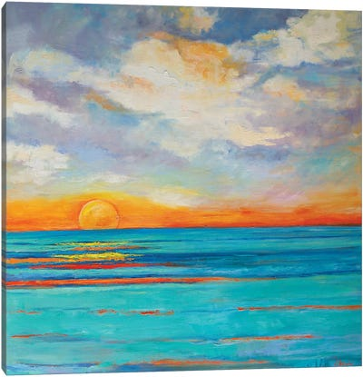 Zuma Beach Dream Canvas Art Print