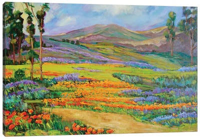 California Dreaming Canvas Art Print