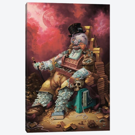 Capital Canvas Print #AXM11} by Alexander Mikhalchyk Canvas Art Print