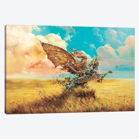 Freedom Canvas Print #AXM1} by Alexander Mikhalchyk Canvas Print