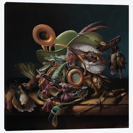 Hunter Canvas Print #AXM3} by Alexander Mikhalchyk Canvas Print