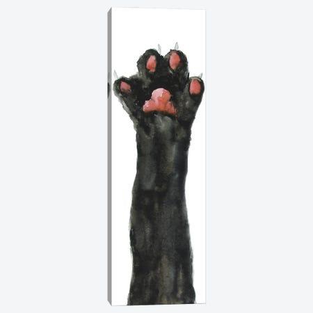 Black Cat Paw Canvas Print #AXS13} by Alexey Dmitrievich Shmyrov Art Print