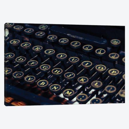 Mechanical Keyboard Canvas Print #AXT106} by Alex Tonetti Art Print