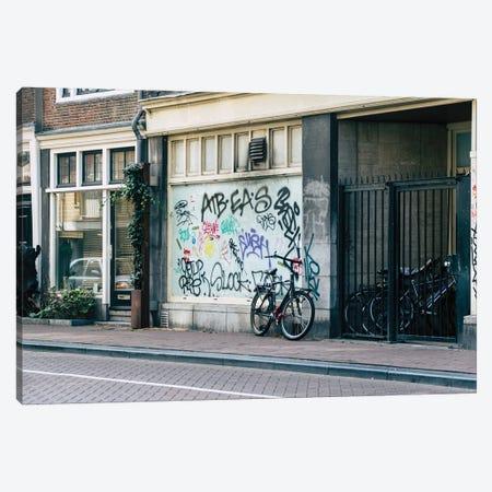 Streets Of Amsterdam Canvas Print #AXT152} by Alex Tonetti Canvas Print